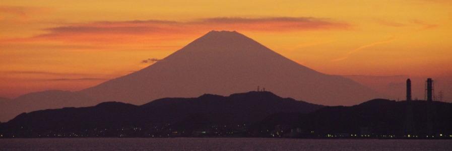 富士山望む