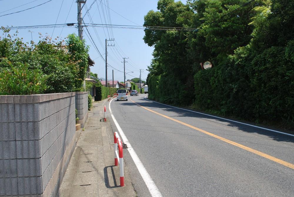 南房総市和田町松田100坪 敷地 国道反対