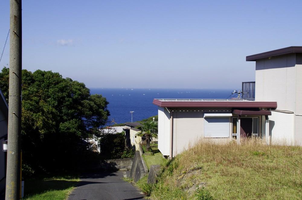 富士見ヶ丘別荘地Z-6 敷地 西側
