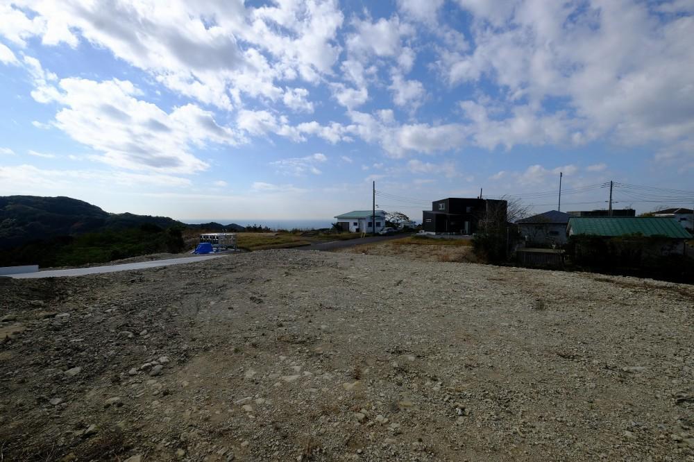 富士見R-8 敷地 西方向