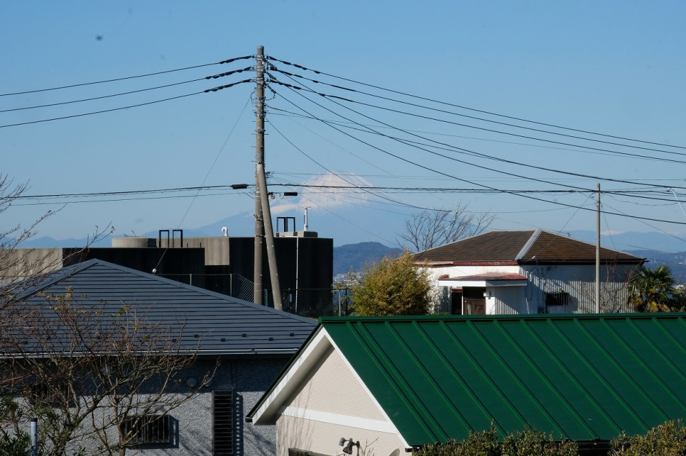 富士見R-8 眺望 富士山