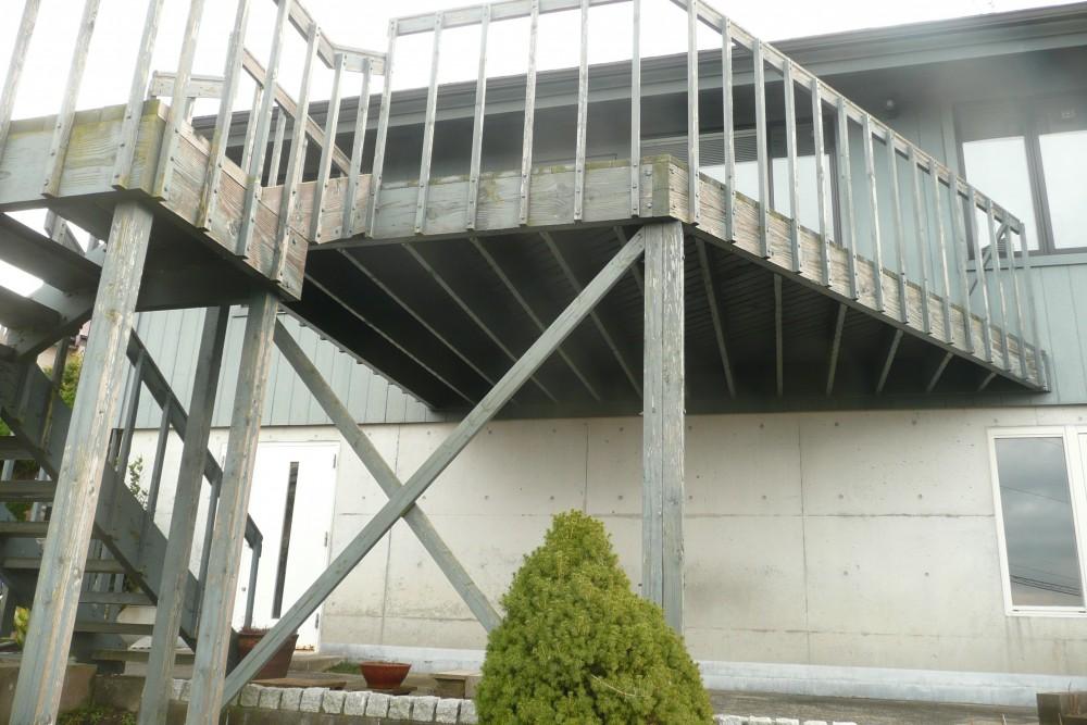 マリンZ42 外観 階段