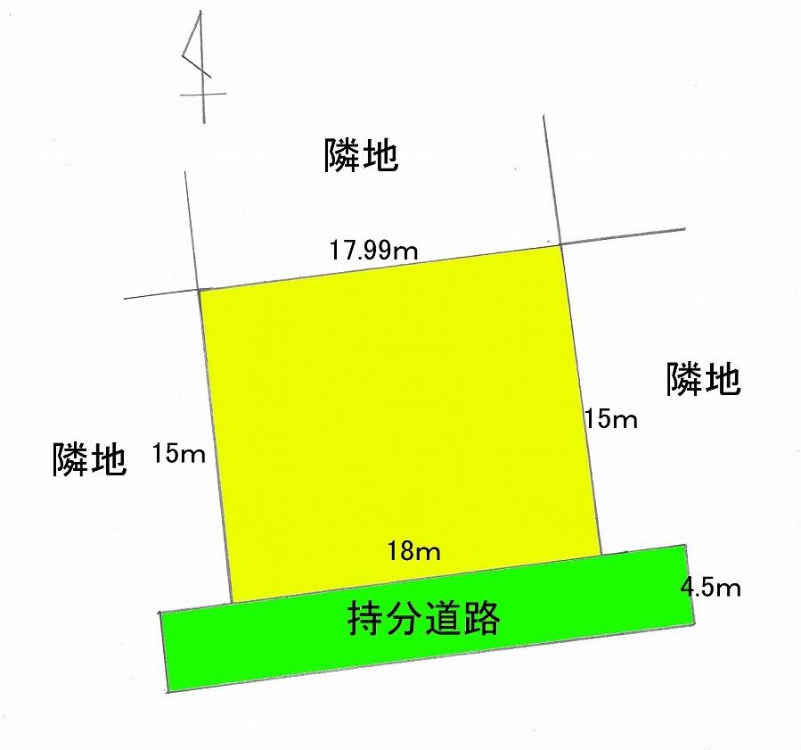 館山市佐野82坪 区画図