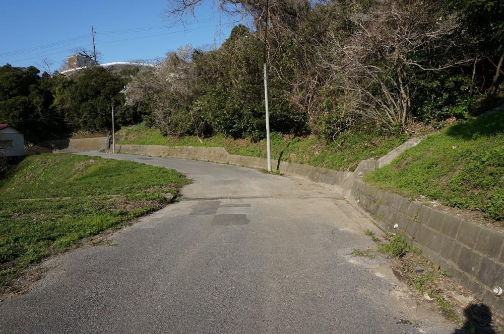 富士見ヶ丘R-1 敷地 別荘地内道路