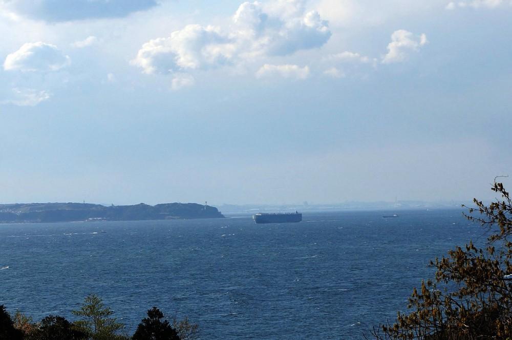 富士見ヶ丘R-1 眺望 対岸の景色