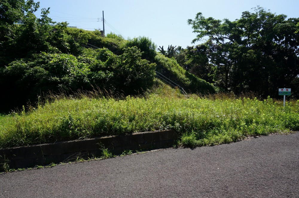 富士見ヶ丘Z-3 敷地 西側から撮影