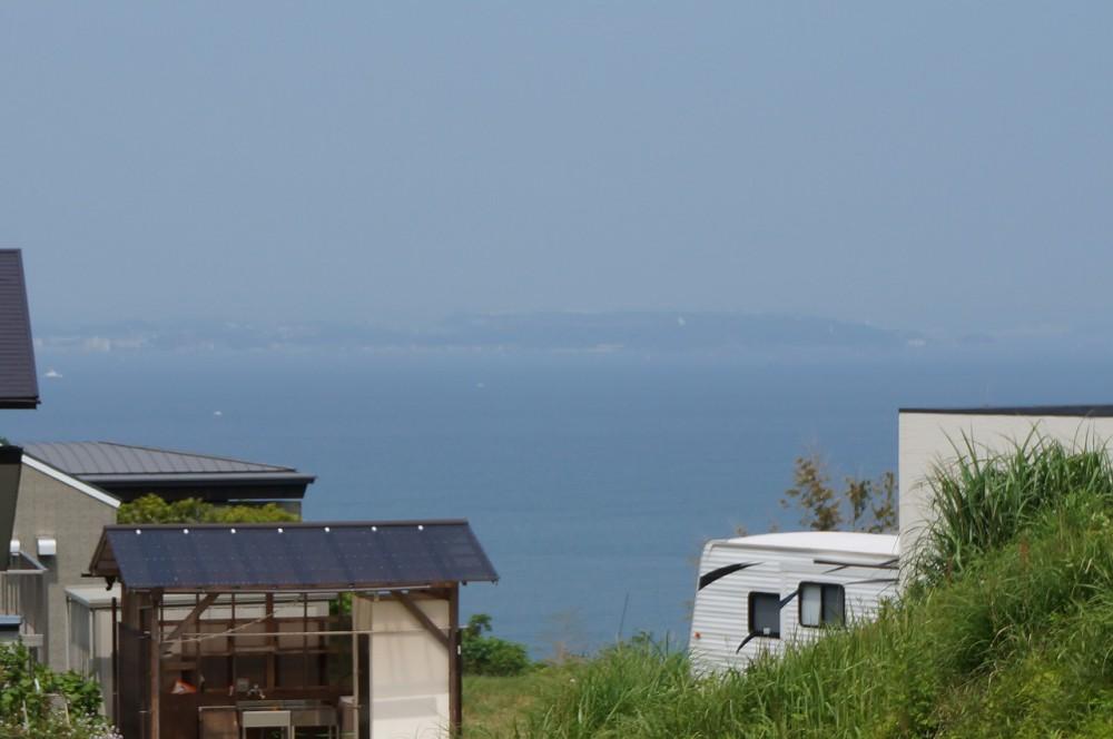 天羽マリーンヒルR-9 眺望 擁壁を囲い