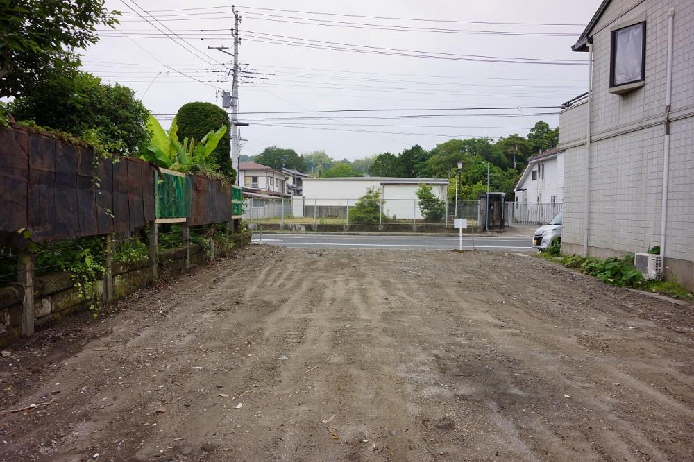 富津市湊206.01坪 敷地 角度をかえて撮影