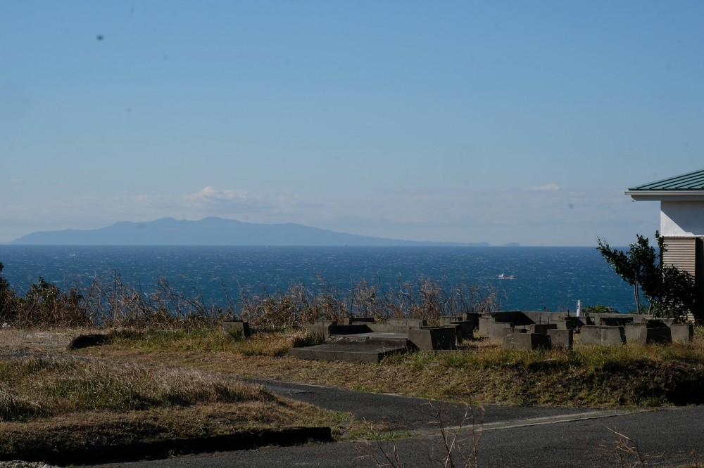富士見R-8 眺望 伊豆大島