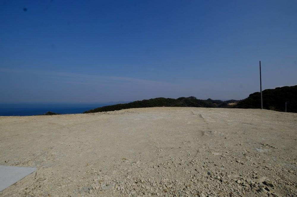 富士見ヶ丘別荘地K3 敷地 前面道路
