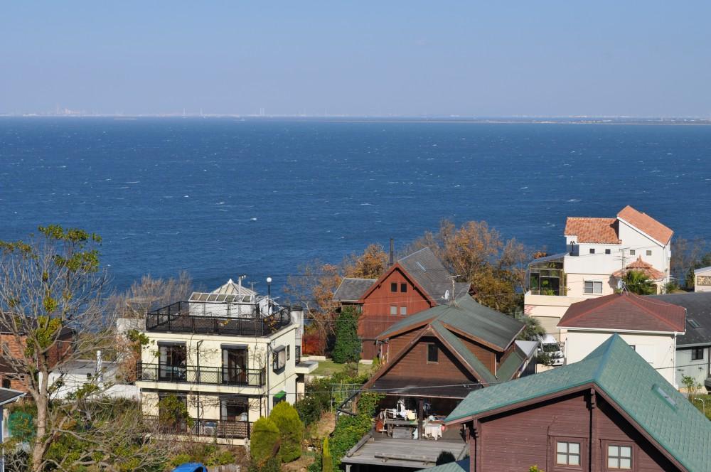 天羽マリーンヒルZ-32 眺望 海を見下ろす