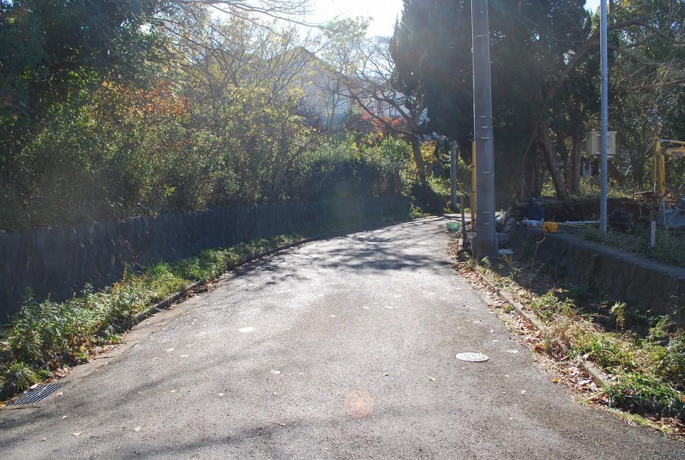 マリンZ41 敷地 敷地西側