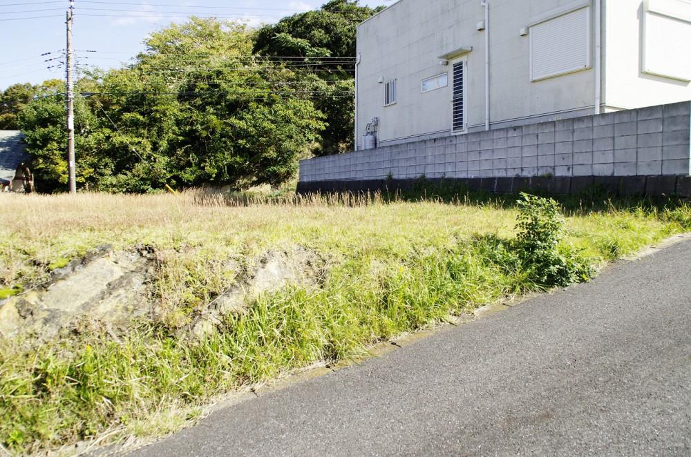 富士見ヶ丘別荘地 敷地 北西側