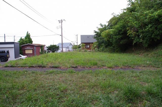 富士見ヶ丘Z-2 敷地 道側から撮影