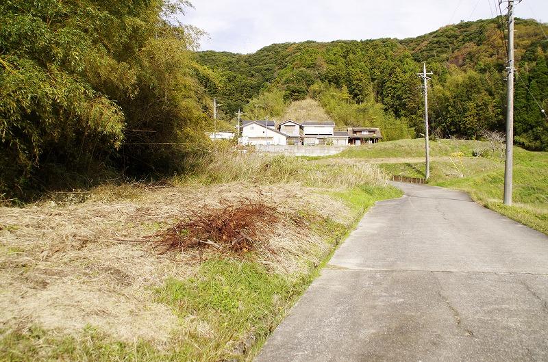 南房総市下滝田 敷地 道路の左側