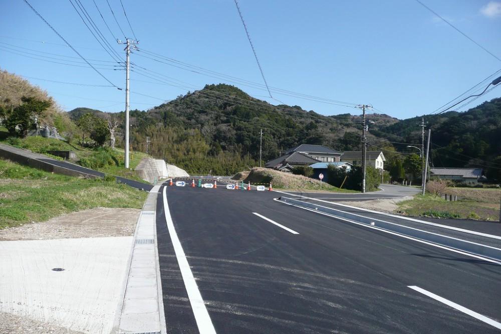 南房総市下滝田384坪 敷地 公道