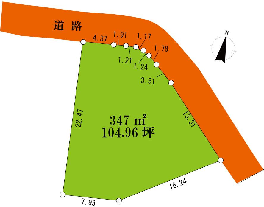 館山市東虹苑104坪