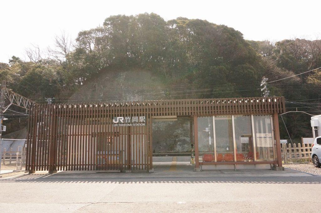 JR竹岡駅