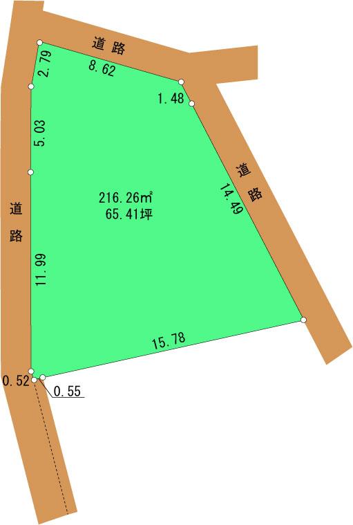 峯の台65坪