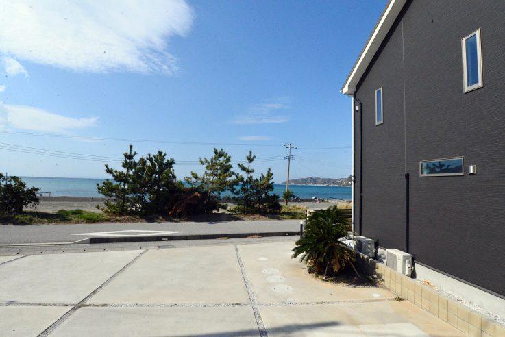 富浦多田良海辺の別荘